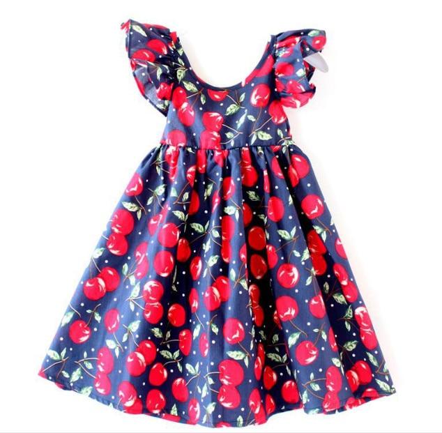Toddler Girls Princess Dress Kids Baby Party Wedding Sleeveless Summer Dress LOT