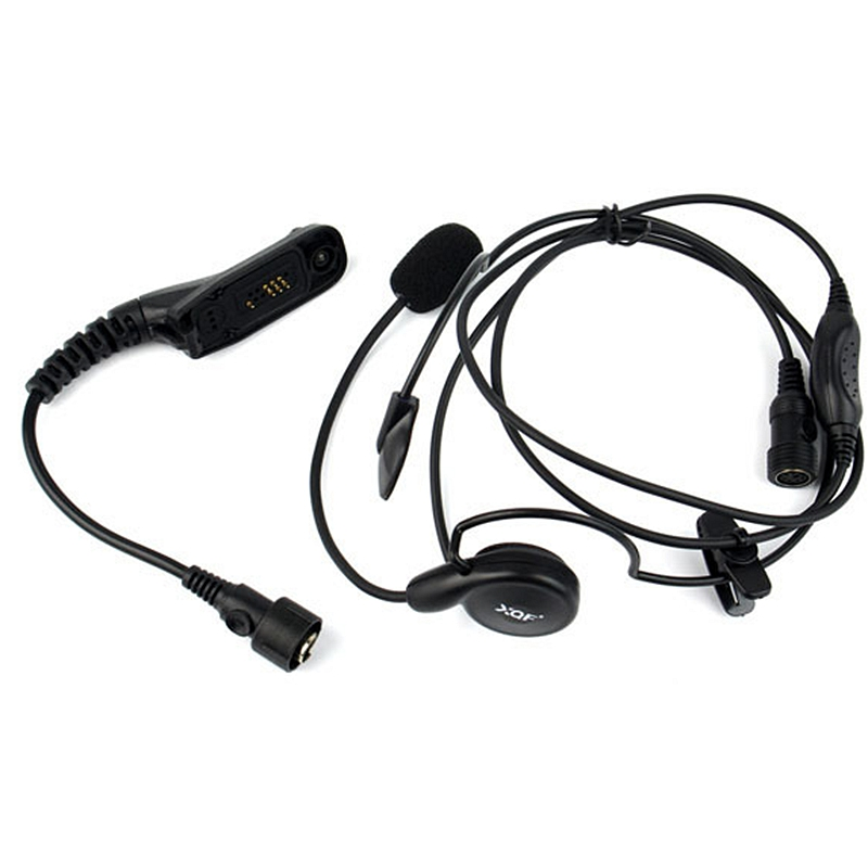 Advanced Unilateral Headphone Mic Neckband Earpiece Cycling Field