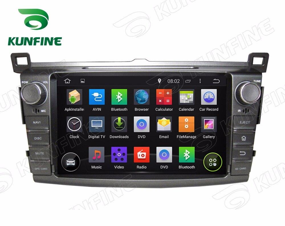 Quad Core1024 * 600 Android 5.1 lecteur de voiture DVD GPS Navigation voiture Stere pour toyota RAV4 2013 Radio Bluetooth 3G/Wifi