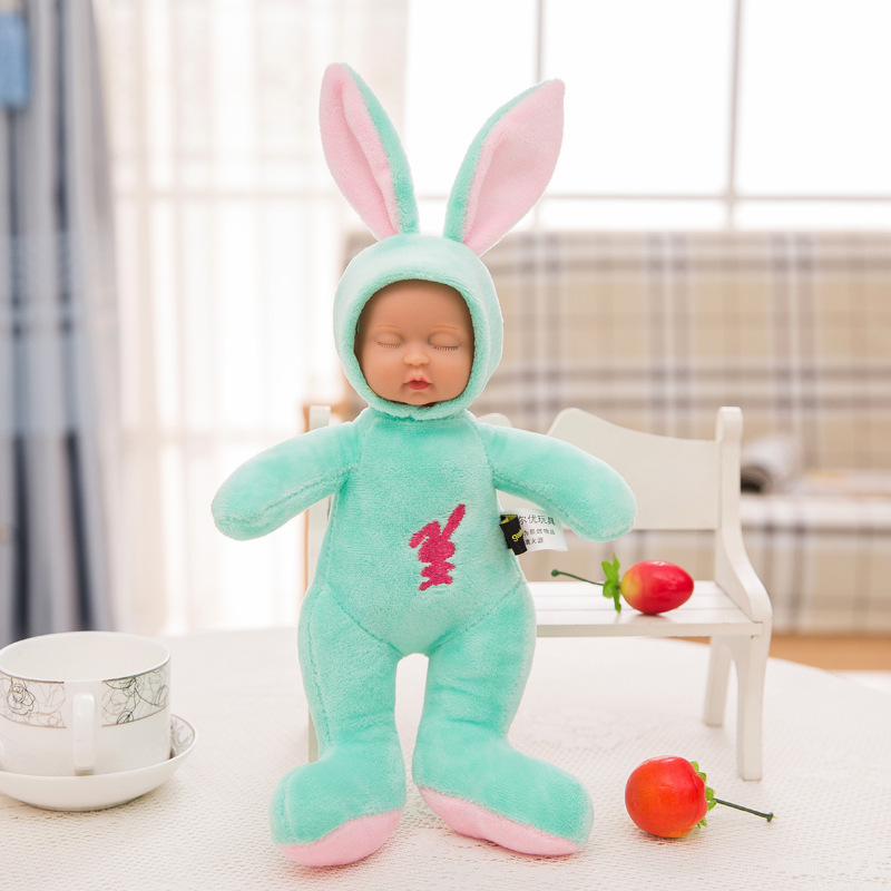Stuffed e Plush Animais children toys birthday gift for Color : Pink, green, blue, red, purple