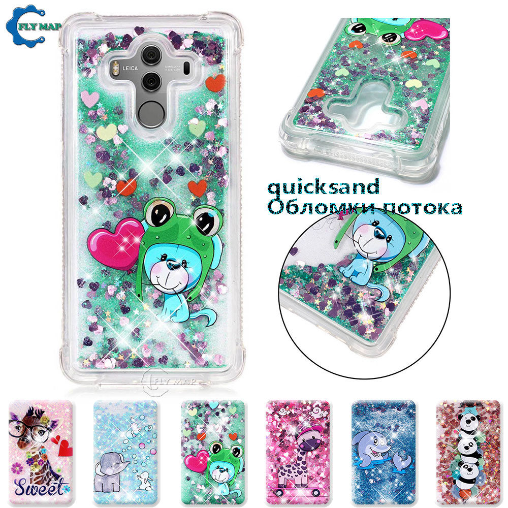 Dashing For Huawei Mate 10 Pro Bla L29 L09 Bla-l29 Bla-l09 Mate10 Pro Glitter Stars Dynamic Liquid Quicksand Tpu Case Cover Casing Capa Big Clearance Sale Cellphones & Telecommunications Fitted Cases
