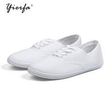 Женские весенние парусиновые туфли женские корейские белые туфли дышащая Chao литературы обувь для учащихся женская обувь для внешней торговли