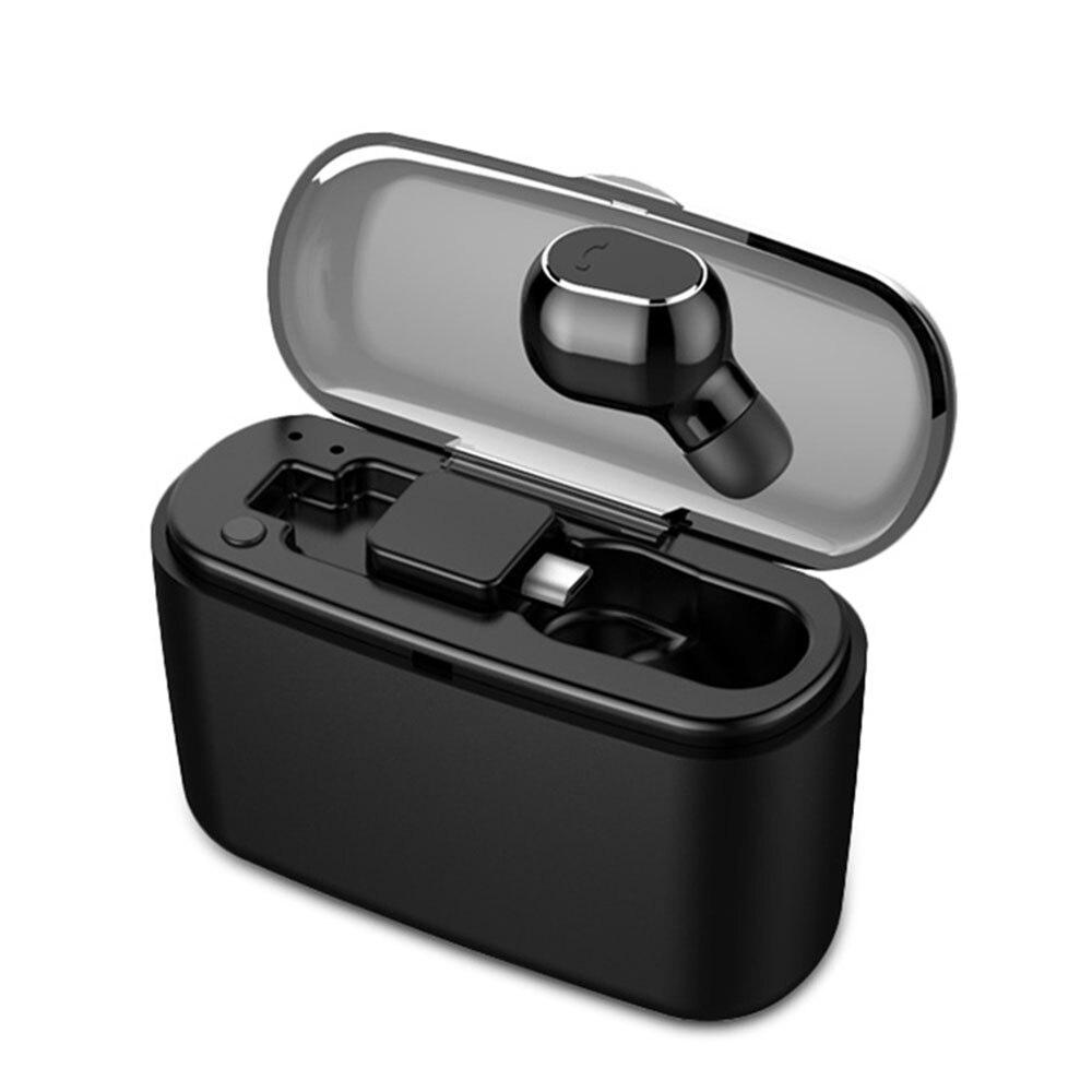 Wireless Bluetooth Kopfhörer Unsichtbare Kopfhörer Stereo Hearset Mit Lade Box Tws Mini Stimme Nachricht Detaillierte Bluetooth 4,1 Auf Dem Internationalen Markt Hohes Ansehen GenießEn Telefone & Zubehör