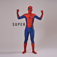 2018 New Amazing Spider man costume Spiderman Homecoming Cosplay Civil War Spider Man Suit Halloween Costumes For Adult/Kids
