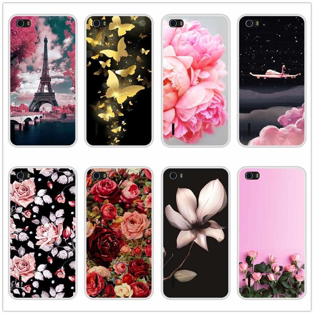 Phone Cases For Huawei Honor 6 5A 4X 5X 6X 4C 5C 6C 6A Pro Case Silicone Soft For Huawei Honor 6C 4C 5C 6A Pro Back Cover