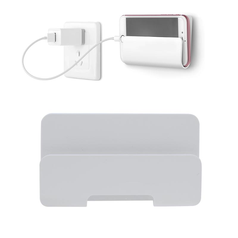 Wall Mount Mobile <font><b>Phone</b></font> Tablet Holder <font><b>Stand</b></font>, Wall Hanging <font><b>Charging</b></font> Holder Bracket <font><b>Stand</b></font> for iPhone Sumsung Huawei <font><b>Phones</b></font> Pad