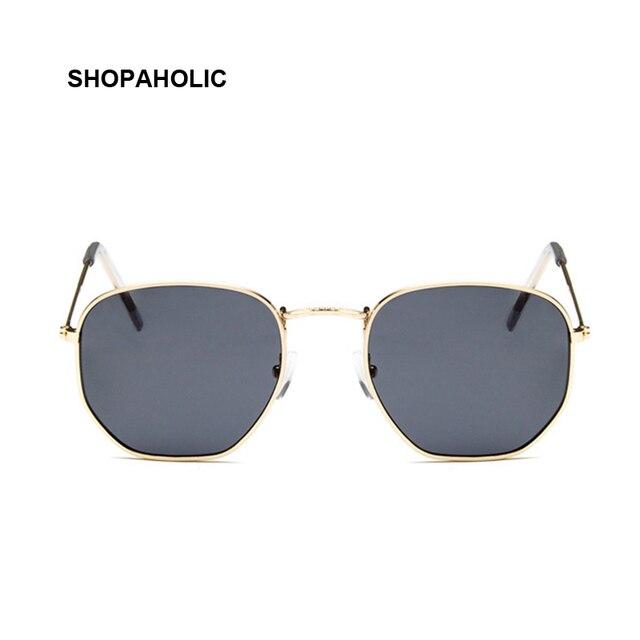 2019 Retro Round Sunglasses Women Brand Designer Sun Glasses for Women Alloy Mirror Sunglasses Ray Female Oculos De Sol 4