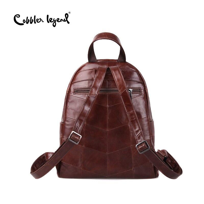 Image 4 - Cobbler Legend Backpack Women 2019 Laptop Bagpack Vintage Classic  Genuine Leather Womens Backpack Ladies Bag Mochila FemininaBackpacks