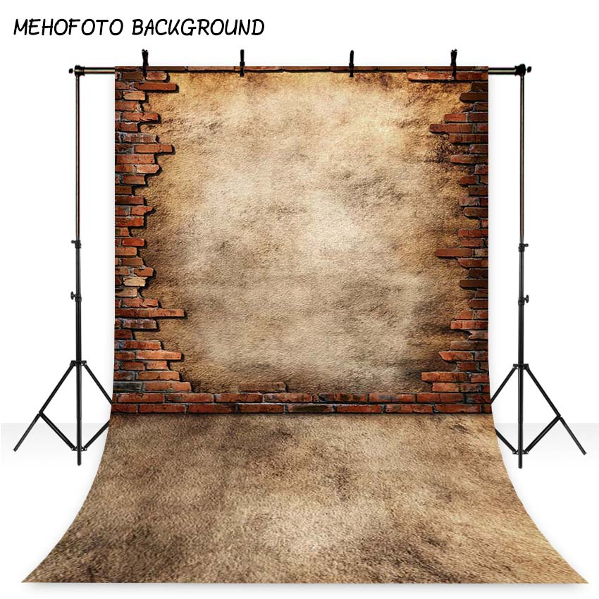 MEHOFOTO 5x7ft Vintage Photography Backdrops Brick Wall Photo Background for Photo studio S-2047 shengyongbao 300cm 200cm vinyl custom photography backdrops brick wall theme photo studio props photography background brw 12
