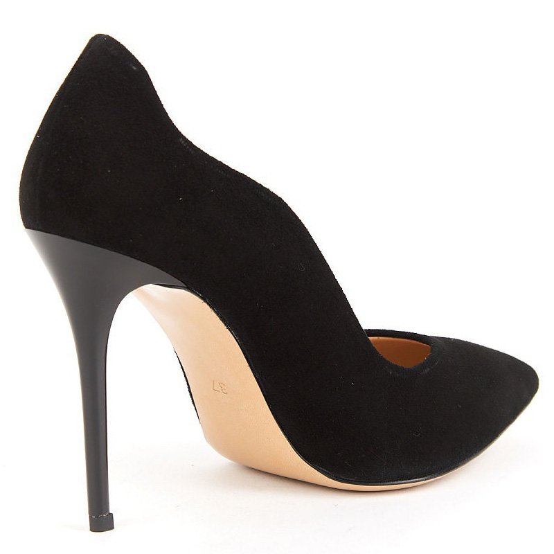 16 Schlank Pumps Schuhe Fsj Flock High Kleid Spitz Sommer 15 Heel Mode Fsj01 Fashionhigh Schwarz Plus Gre Frauen Heels Sexy LzVpGqSMU