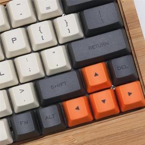 Image 5 - Carbon 64 Layout Dye sub Keycaps OEM Profile Include 1.75 Shift Fit GK64 Mechanical Gaming 60% Keyboard Teclado Mecanico Gamer