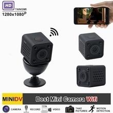 TANGMI 2017 Nowe Wideo Full HD 1080 p Mini DV DVR Wifi Bezprzewodowe Kamery Podczerwieni Night Vision Z Detekcji ruchu Kamery Cam