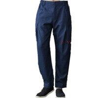 New Arrival Chinese Men's Kung Fu Trousers Cotton Linen Kung Fu Pant Tai Chi Pants Wu Shu Pants Size M L XL XXL XXXL