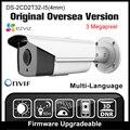Ds-2cd2t32-i5 hikvision (4mm) versão original em inglês h265 ipc onvif p2p poe ip câmera de 3mp câmera de cctv segurança hd câmera hik