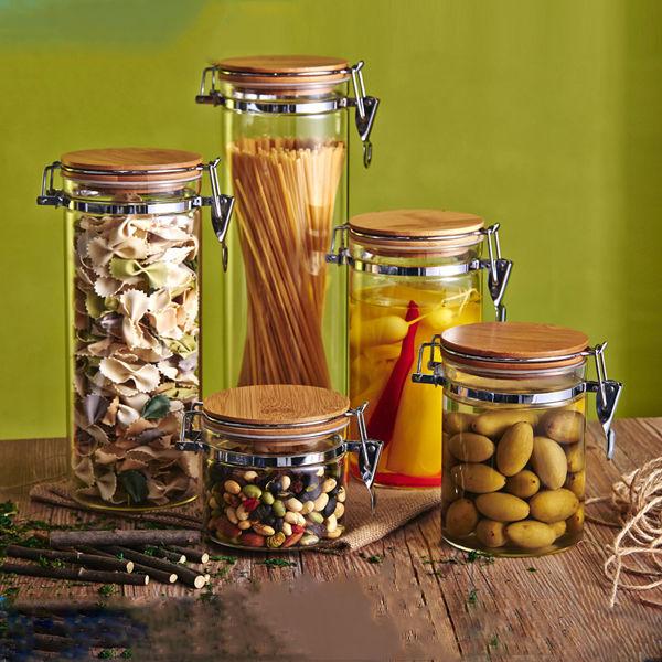 Galletas de Té de Alimentos de Cocina Botella De Vidrio De ...