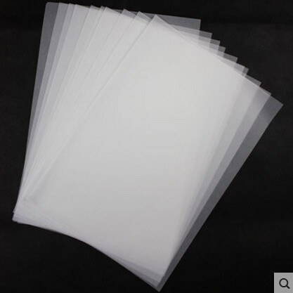 types of tracing paper To exercise i use ordinary typewriter paper, although not the normal 80g/m²  type  if the drawing is meant for animation, using tracing paper would be  the  best quality animation paper is slightly translucent , allowing.