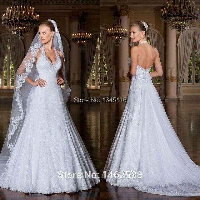 Perfecto Vestidos De Novia Halter Top Ideas Ornamento Elaboración ...