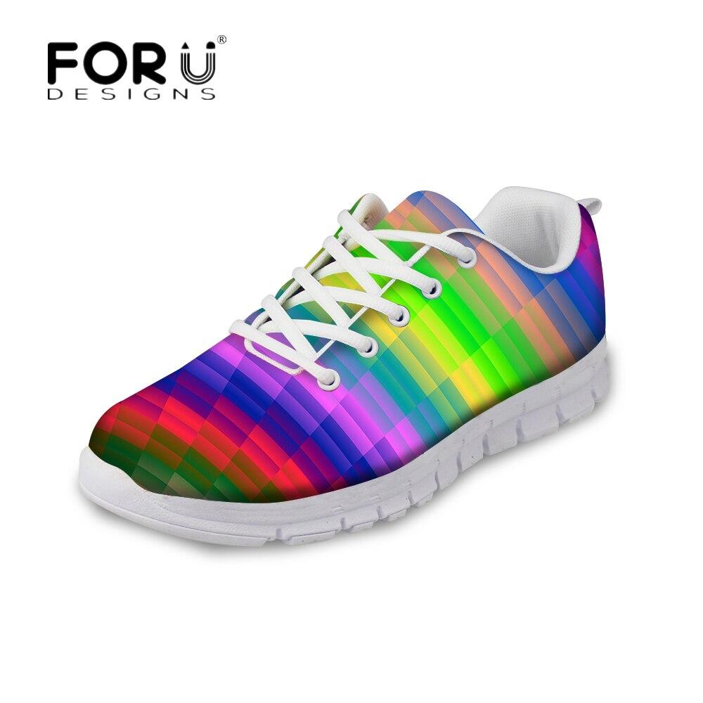 Forudesigns Fashion Pria Kasual Sepatu Trainers Flats Air Tali Elastis Dengan Lock Laces Lari Jala Anti Bau Bernapas Lace Up Untuk Man Zapatos Ukuran Besar