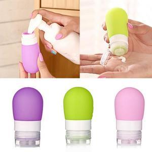 Image 5 - Bouteille de presse rechargeable pour voyageurs, Mini bouteille Portable pour voyageurs, pour Lotion, pour shampoing, bain, offre spéciale