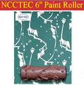 Ролик для декоратора из мягкой резины NCCTEC  6 дюймов  бесплатная доставка  150 мм  инструменты для нанесения краски на стену