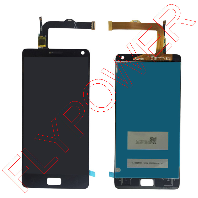 For Lenovo VIBE P1 LCD Display With Touch Screen Digitizer Assembly Black color; 100% warranty аксессуар чехол lenovo k10 vibe c2 k10a40 zibelino classico black zcl len k10a40 blk