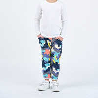 Loose Children Cool Trousers Clothing for Kids Fashion Kids Boys Pants Elastic Waist Print Camouflage Army Sport Pants