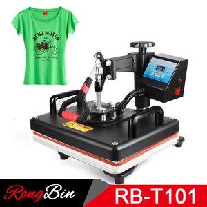 Image 5 - 12x15 дюймовая машина для печати на футболках, термопресс, сублимационный трансферный принтер