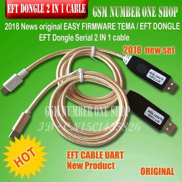 2019 ニュースオリジナル簡単ファームウェアテマ/EFT ドングル EFT ドングルシリアル 2 1 ケーブルで送料無料