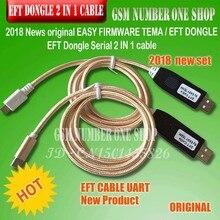 2019 Nieuws originele GEMAKKELIJK FIRMWARE TEMA/EFT DONGLE EFT Dongle Seriële 2 IN 1 kabel Gratis verzending