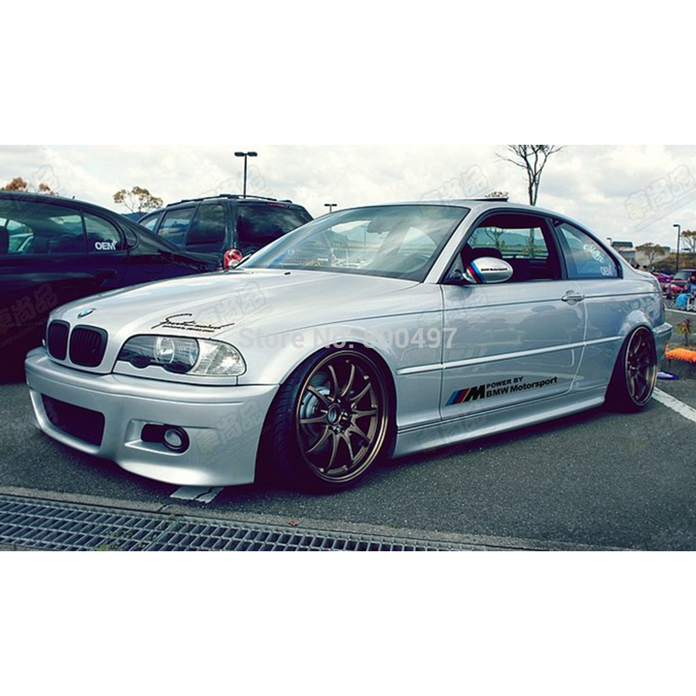 X New Style M Sports Stickers Car Whole Body Decals - Bmw car decals stickers