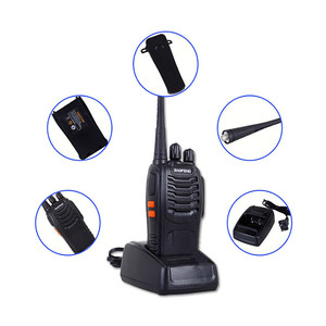 Image 5 - BF 888S 2 Baofeng Mini Walkie Talkie inalámbrico civil impermeable portátil auto conducción Tour Hotel Tourie seguridad walkie talkie