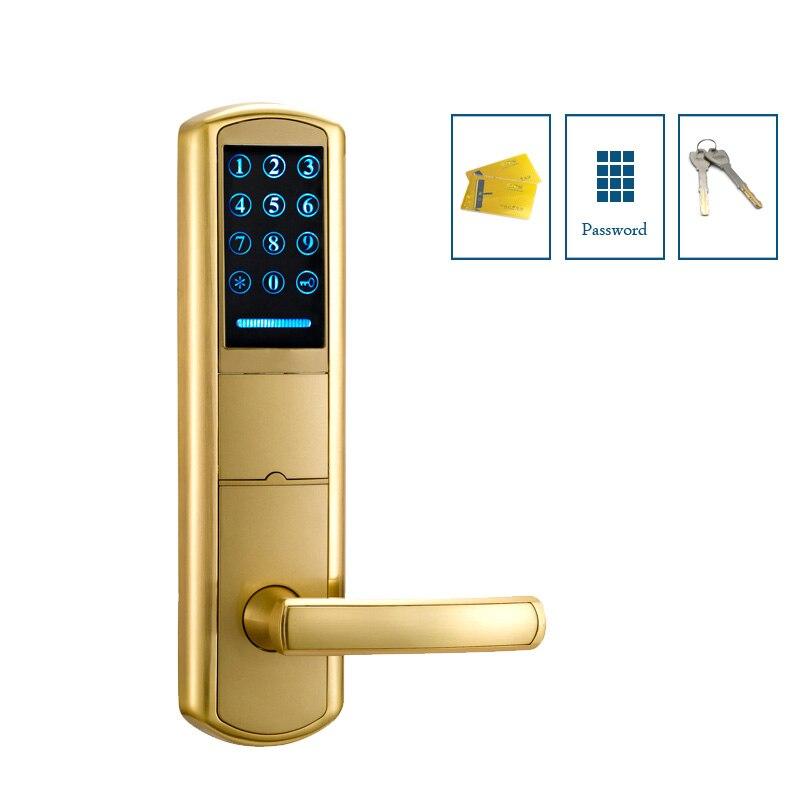 Aliexpress Buy Combination Front Door Lock Home Keyless Entry