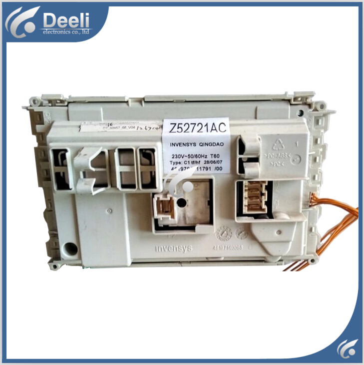 original for Washing Machine computer board WFS1263CW WFS1263CS WFC1253CW  Z52721AA wire universal board computer board six lines 0040400256 0040400257 used disassemble