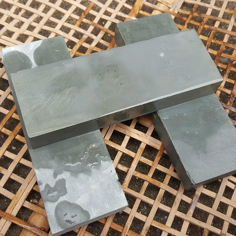 Fine polishing 8000 natural mud whetstone Pedicure Woodworking Knife Grinder water stone 200 68 28mm