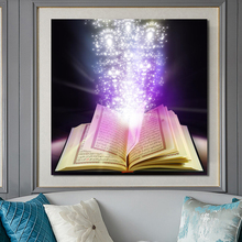 Modern Islamic Posters and Prints Wall Art Canvas Painting Arabic Koran Decorative Pictures for Living Room Home Decor