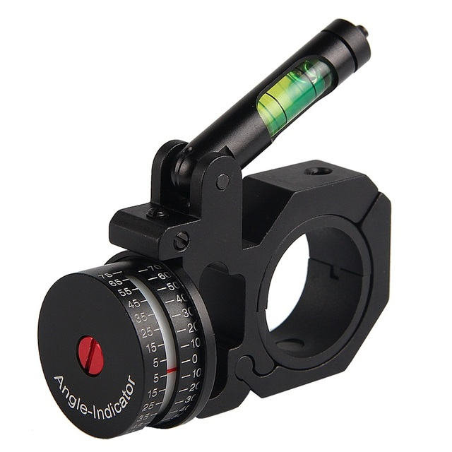 Scope Ring Angle Indicator Bubble Level Fit 25.4mm/30mm Scope Mount Rings for Optical Scope Sight Hunting HT2-0047 5