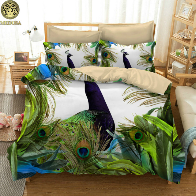 Cal King Art Pea Duvet Cover Set Us Twin Full Queen Size Bed Linen