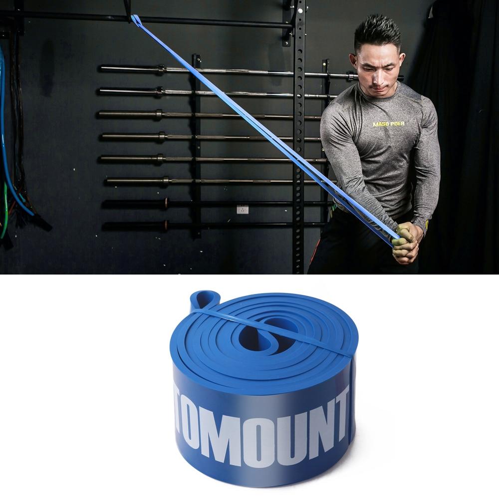 TOMOUNT Gummi Elastisk Fitness Body Building Modstandsbånd - Fitness og bodybuilding - Foto 2