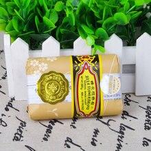 Портативный Мини Мыло Би Цветок Сандалового Дерева Мыло Акне Для Удаления Клещей Тура Туалетное Мыло SS