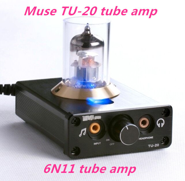 Muse TU-20 tube amp / 6N11 tube Tube preamp / HiFi computer digital amplifier / Amp headphone amplifier zhi lai salar t1 induced digital tube headphone preamp boldly 2 channel audio inputs with switch hifi amplifier