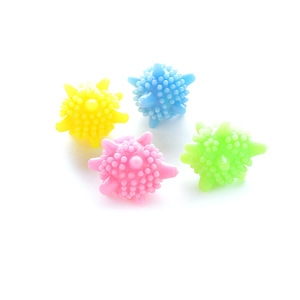 Image 5 - 1PCS Soft Rubber Laundry Ball Easier Cleaner Anti wrap Laundry Ball Clothes Personal Care Households Washing Machine Clean Balls