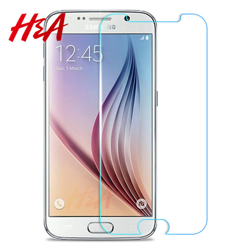 H&A Tempered Glass For Samsung Galaxy s7 Note 2 3 4 5 Premium Screen Protector For Samsung S3 S4 S5 S6 Tempered Glass Tough Film