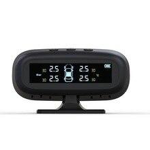 General Professional USB Solar Powered LCD Display Car Auto Motorcycle Digital Tire Tyre Air Pressure Meter Gauge Tester Tool