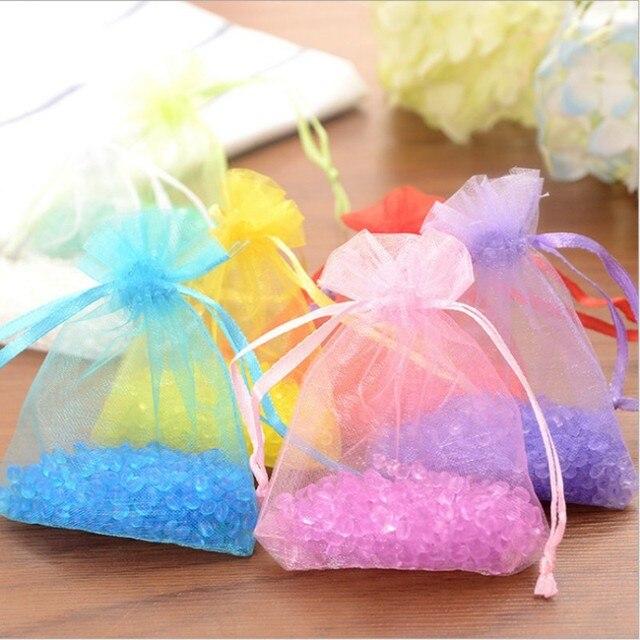 1 pz Nuovo filato di Colore del sacchetto Sacchetto di Fragranza Casa Guardaroba
