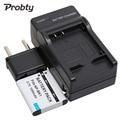Probty 3.7 v bateria camera + carregador para sony np-bk1 npbk1 DSC-S750 S780 S950 S980 W180 W190 W370 MHS-PM1 MHS CM5 PM5