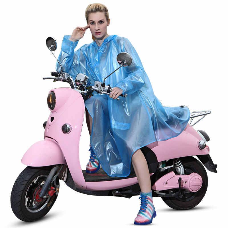 Модные женские дождевые пончо мотоциклетные дождевик накидки водонепроницаемые кемпинговые пончо с капюшоном прозрачный Дождевой Плащ велосипедный Дождевой Плащ