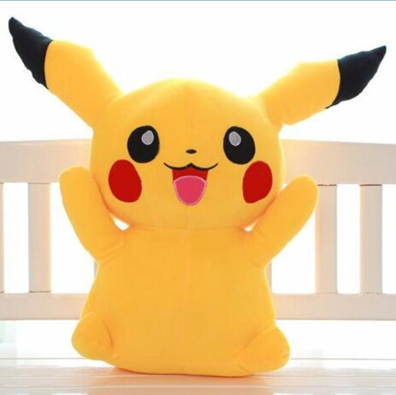 1pcs 16 40cm Pikachu Plush Toys High Quality Very Cute Stuffed Animal Dolls Children Toys Movie Tv kids Christmas Gift free shipping 23cm special offer pikachu plush toys high quality very cute plush toys for children s gift