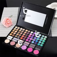 78 Colors Makeup Palette Eye Shadding Shadow Eyeshadow Concealer Blusher Palette