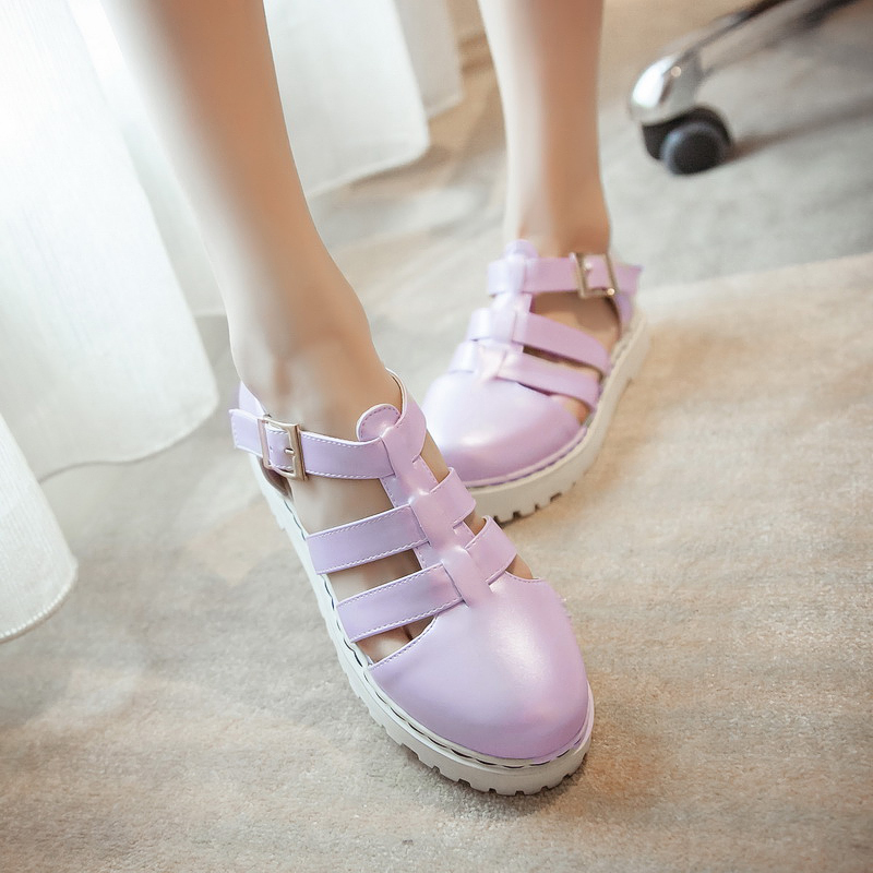 2015 sandals summer fashion vintage platform