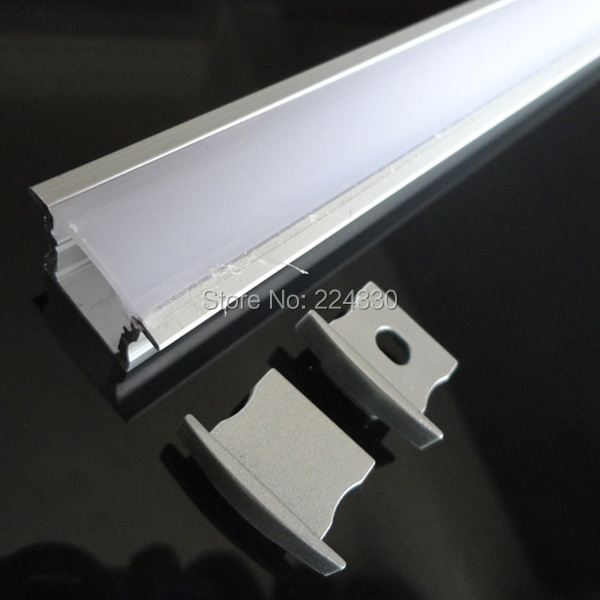Led Strip Light Channel Track Led Strip Profile With Pc